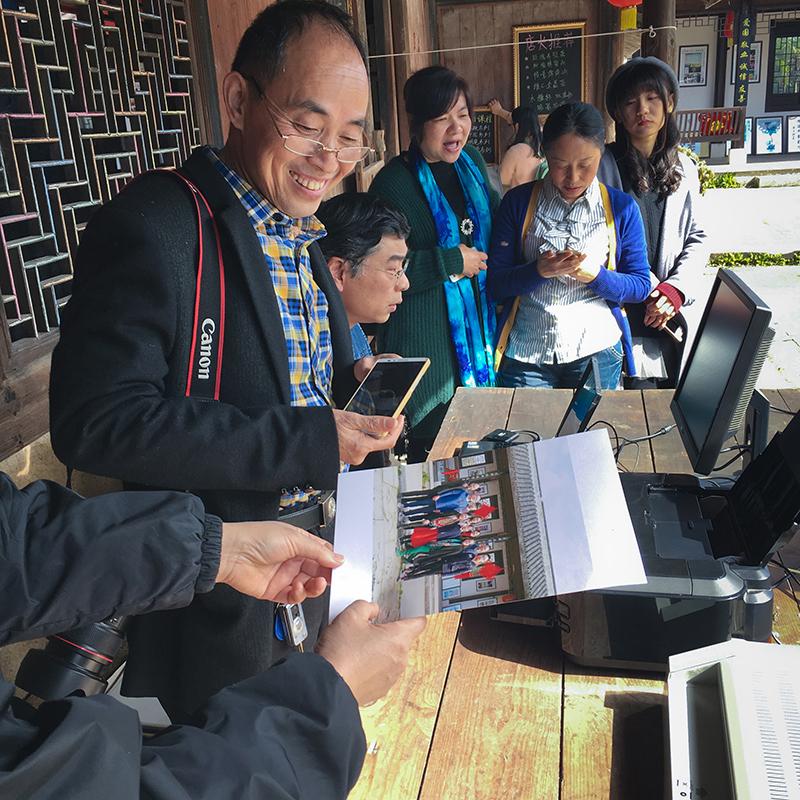 台州路桥摄影家协会开展 摄影进万家温暖全家福 活动